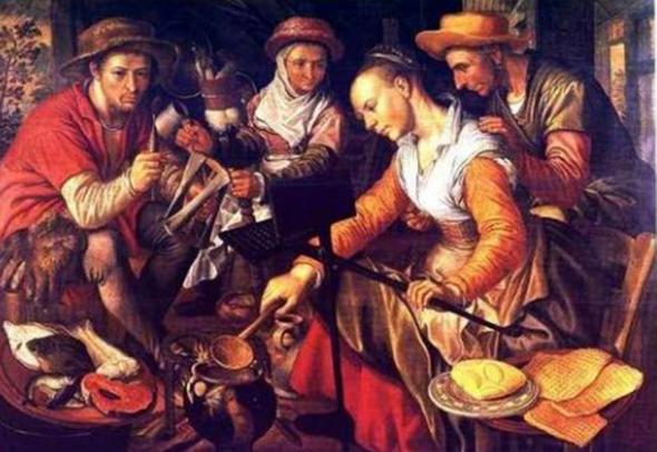 История вафельницы