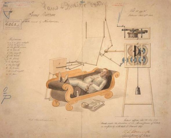 История вентилятора