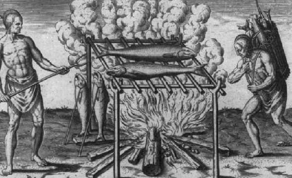 История барбекю