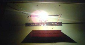 Дуговая угольная лампа Фуко